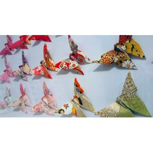 Fiery Flight of Butterflies Bright - SOLD