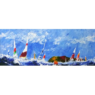 Round the Island Race - Lundy ll  SOLD