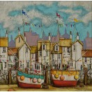 Harbour Scene  SOLD