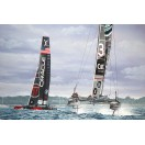 Land Rover Bar & Oracle Team USA  SOLD