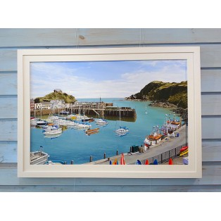 Ilfacombe Harbour in Summertime