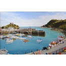 Ilfracombe Harbour in Summertime