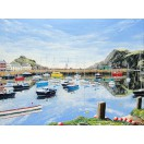 Ilfracombe Harbour - Reflections SOLD