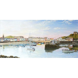 Ilfracombe Harbour - Warm Sky