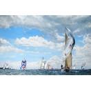 Yachts Racing at Cowes Week