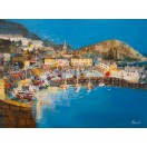 Ilfracombe Harbour Summer SOLD