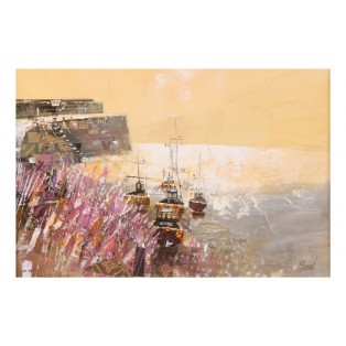 Sea Wall Clovelly  SOLD