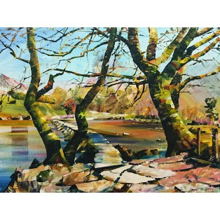Tarr Steps, Exmoor   SOLD