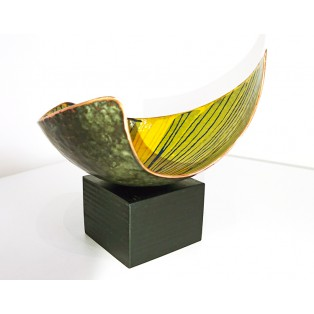 JH1  - Copper Sculpture - Yellow   SOLD