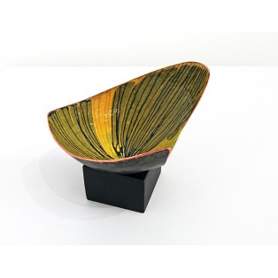 JH1  - Copper Sculpture - Yellow